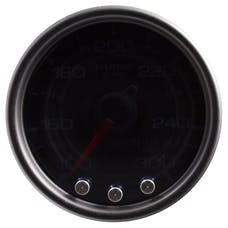 "AutoMeter Products P34252 Trans Temperature Gauge 2 1/16"", 300Γö¼ΓòæF, Stepper Motor Black"