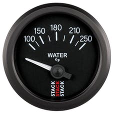 AutoMeter Products ST3208 Gauge WTmp Electric 52mm Blk 100-250deg.F