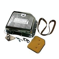 B&M 30289 Chrome Deep Transmission Pan For TH 350 Transmission