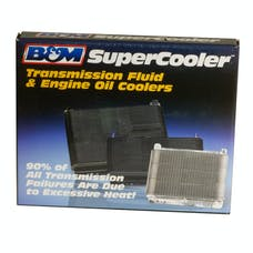 B&M 70272 Polished SuperCooler Automatic Transmission Oil Cooler
