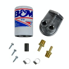 B&M 80277 Remote Transmission Filter Kit