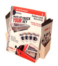 BOLT 4722830 POP Tool Box Latch Counter Display