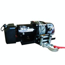 Bulldog Winch 10031 7800lb Trailer Winch, 47' wire Rope, Roller Fairlead, Mnt Plate, Low Profile