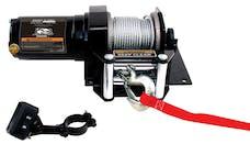Bulldog Winch 15001 2000lb ATV Winch with Mini-Rocker Switch, Mounting Channel, Roller Fairlead