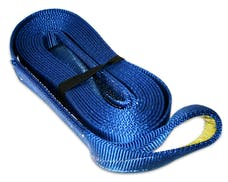 """Bulldog Winch 20030 Recovery Strap 3"""" x 30', 30,000lb BS polyester"""