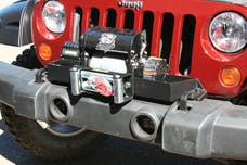 Bulldog Winch 20066 Winch Mount, JK with OE Bumper