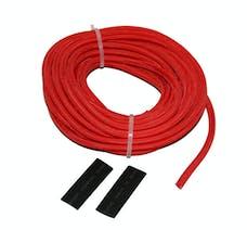 "Bulldog Winch 20139 Wire Sheathing, high heat fiberglass 5mm x 25ft (3/16"") red"