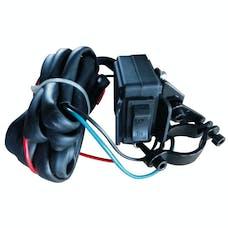 Bulldog Winch 20151 Mini Rocker Switch, Handlebar Mount w8ft wire