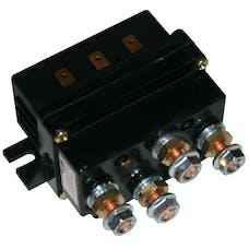 Bulldog Winch 20204 Contactor, Truck 450A w/spade connectors