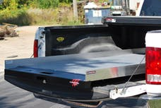 """Cargo Ease CE8048 1200Lb Capacity,75% Extension,4 Bearings,4Tie Down, 4"""" Rails, Plywood Deck"""