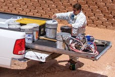 CargoGlide CG1500-6347 Slide Out Cargo Tray, 1500 lb capacity, 75% Extension, Plywood Deck