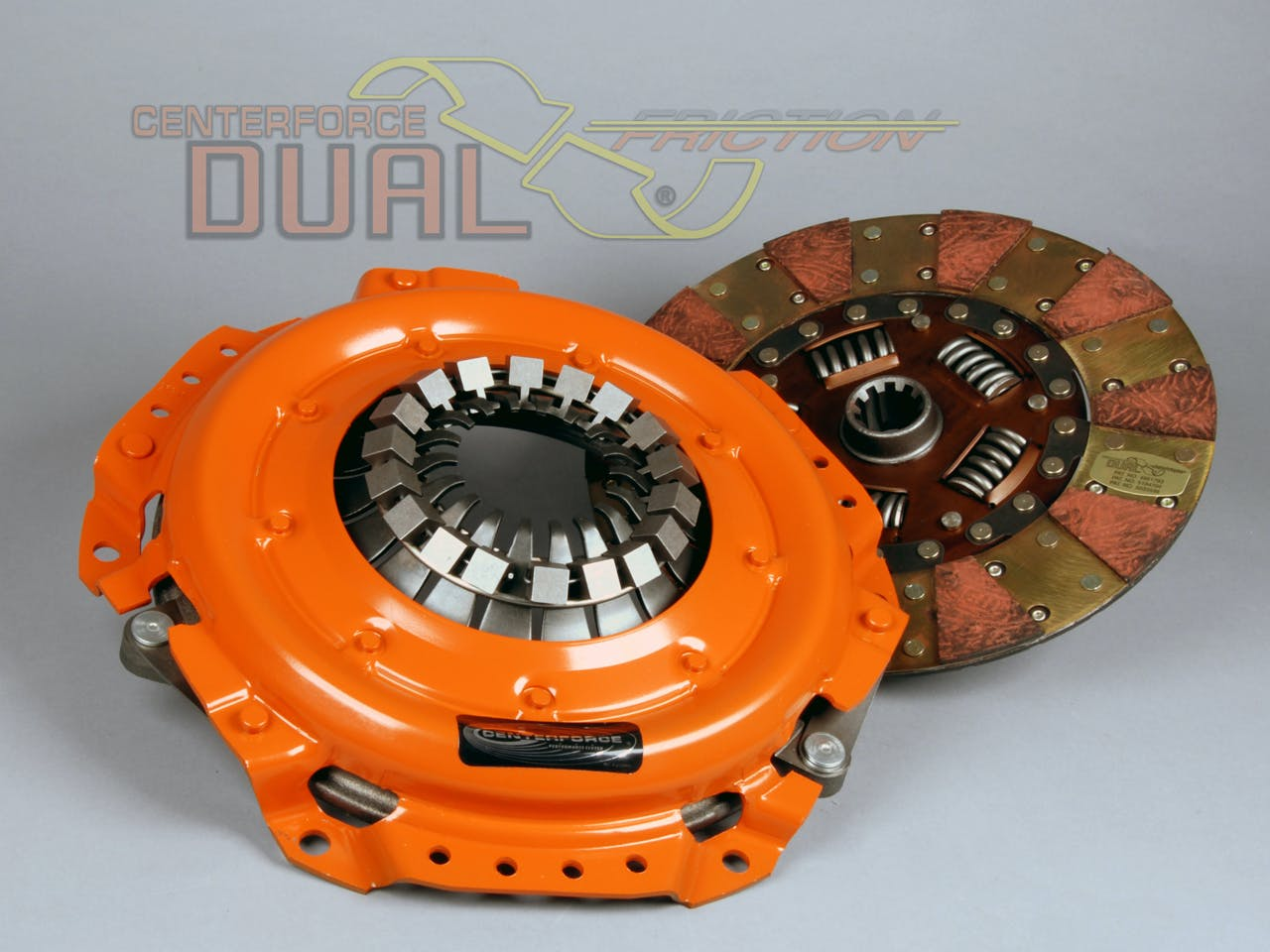 Centerforce DF116116 Dual Friction Clutch Pressure Plate and Disc