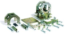 Competition Engineering C2030 Floating Housing Mount; Bolt-On; For Use w/3 in. O.D. Axle Tubes;