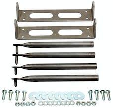 Competition Engineering C4930 Door Hinge Kit; Incl. 2 Door Hinges; Mounts