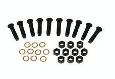 Competition Engineering C9006 Carrier Stud Kit; Incl. Nuts; Copper Sealing Washers