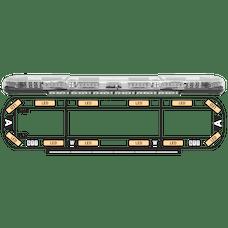 "ECCO 14-00002-E Axios 14 Series Modular LED Lightbar (54"", 12 LEDs, DropLock Power Rails)"