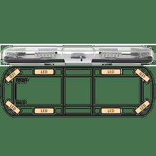 "ECCO 14-00005-E Axios 14 Series Modular LED Lightbar (39"", 8 LEDs, DropLock Power Rails)"