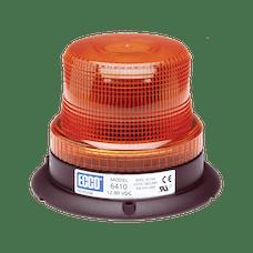 ECCO 6410A 6410 Series Low-Profile Flashtube Strobe Beacon (3-Bolt Mount, Amber)