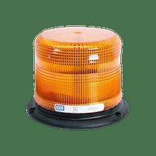 ECCO 6550C 6500 Series Low-Profile Flashtube Strobe Beacon (3-Bolt Mount, Clear)