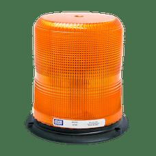 ECCO 6720A 6720 Series Medium-Profile Flashtube Strobe Beacon (3-Bolt Mount, Amber)
