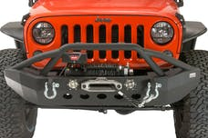 Fishbone Offroad FB22003 Front Full Width Winch Bumper with LED's