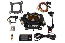 FiTech 30012 Go EFI 8 Power Adder System Kit (Matte Black, 1200 HP)