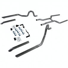 Flowmaster 17107 Header-back System-2.50 in. Dual Rear Exit-Pipes Only No Mufflers