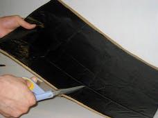 Hushmat 10500 Bulk Kit has 30 black sheets of 12x23 in Ultra. Total 58.1 sqft.