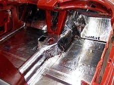 Hushmat 10501 Bulk Kit has 30 silver sheets of 12x23 in Ultra. Total 58.1 sqft.
