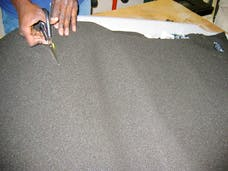 Hushmat 20200 Silencer Megabond Foam has 2 sheets of 23x36 in 1/4 in thick. Total 11.5 sqft.