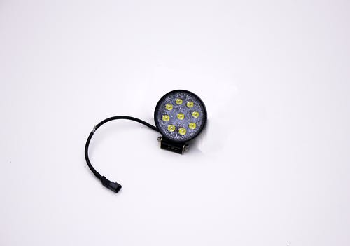 """Iconic Accessories 511-1041 4.5"""" 27W Round LED Light Flood 2,160 Lumens each"""