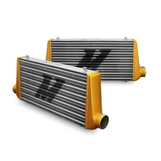 Mishimoto MMINT-UMGA Mishimoto Universal Intercooler M-Line Eat Sleep Race Edition, Gold End Tanks