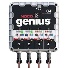 The NOCO Company G4 4.4A 4-Bank Smart Battery Charger