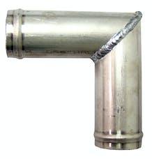 Northern Radiator Z17617 90 ?Aluminum Hose Connection