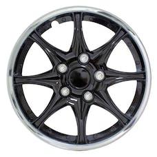 Pilot Automotive WH522-15C-B Black Chrome 15 in. WC