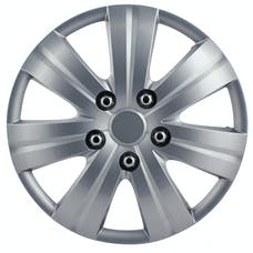 Pilot Automotive WH523-14S-BX Matte Silver 7 Spoke 14' Wheel Cover