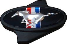PROFORM 302-338 Carburetor Air Cleaner Center Nut; Ford Mustang Pony Logo; 1/4 -20 Thread; Black