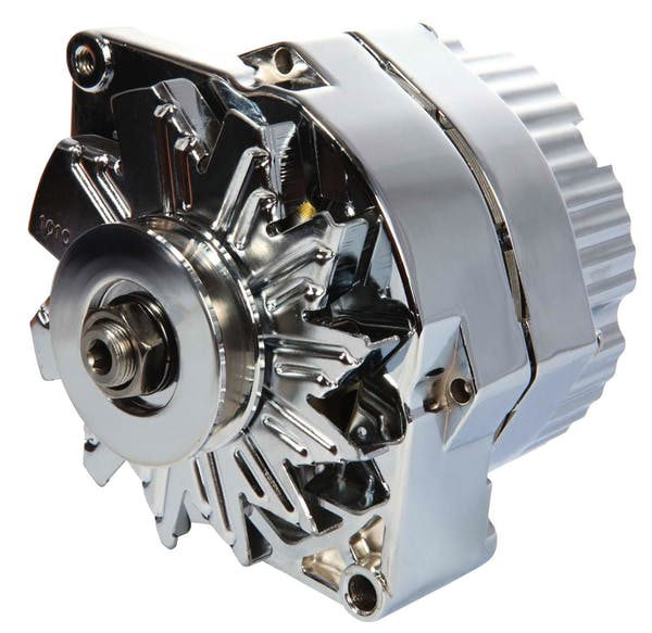 Proform 66445N Alternator; GM 73-86 with Internal Regulator; Machined Pulley; Chrome; 100% New