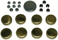 Proform 66552 Brass Freeze Plug Kit; For Big Block Chevy 396-454 Engines; All Sizes Included