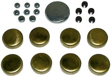 Proform 66553 Brass Freeze Plug Kit; For Ford 289/302/351W Engines; All Sizes Needed Included