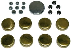 Proform 66560 Brass Freeze Plug Kit; For Pontiac V8 Engines; All Sizes Needed Included