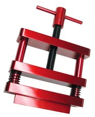 Proform 66769 Engine Connecting Rod Vise; Standard Model; Red Anodized Aluminum Construction
