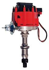 Proform 66953 HEI Distributor; Fits Pontiac 326-455 V8 Engines; Red Cap; Natural Finish