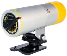 Proform 67005SC RPM Shift Light; Stand Alone Adjustable Model; Silver Body with Yellow Cover