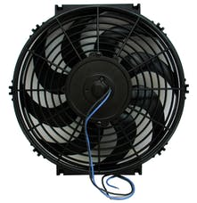 Proform 67013 Electric Radiator Fan; Universal High Perf. S-Blade Model; 12 Inch; 1200CFM