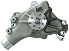 Proform 67265 Engine Water Pump; Mechanical Long Style; High Flow Model; Satin; SB Chevy