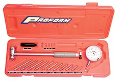 Proform 67411 Dial Bore Gauge; Professional Model; 2-6 Inch Range; Reads in .0005 Increments
