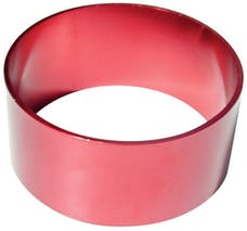 Proform 67572 Engine Piston Ring Compressor; Tapered; Fits 4.250 Inch Piston Bore; Red Finish