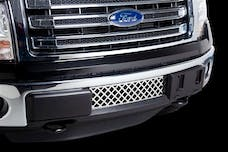 Putco 82182 FORD F150-ECOBOOST GRILLE-STAINLESS STEEL-DIAMOND DESIGN
