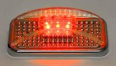 Putco 930002 UNIVERSAL SIDE MARKER-RED LED W/ION CHROME LENS